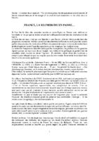 LA RECHERCHE FRANCAISE